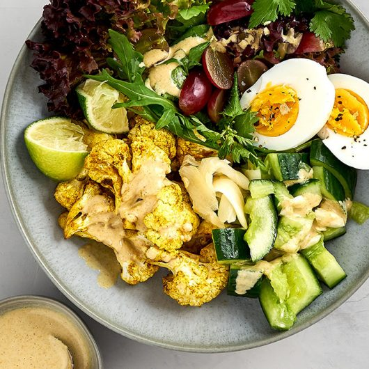 Roasted Cauliflower Bowl
