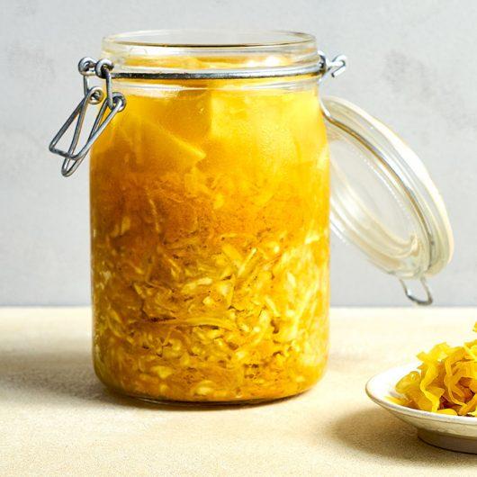 Kurkuma-Sauerkraut