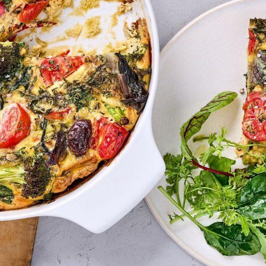 Gemüse-Frittata aus dem Ofen