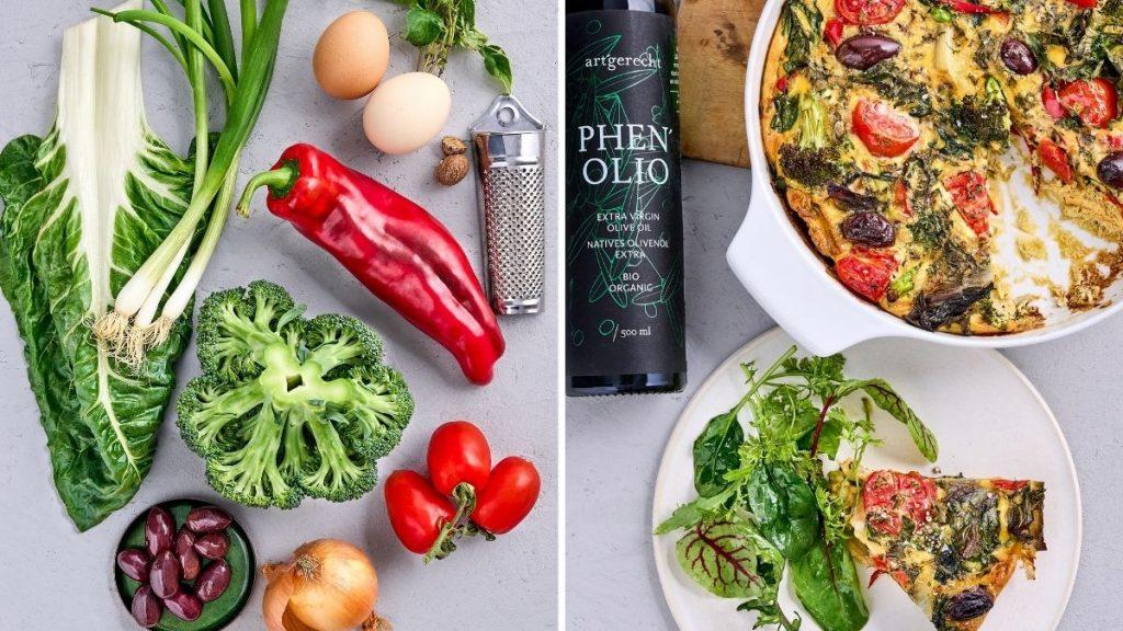 artgerecht Gemüse-Frittata aus dem Ofen - Zutaten